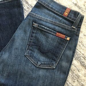 7 for all Mankind Bootcut Denim